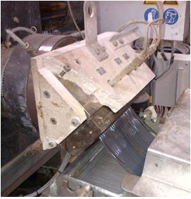 Extruder for the mechanical recycling of PET