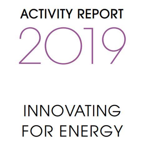 Activity Report IFPEN 2019