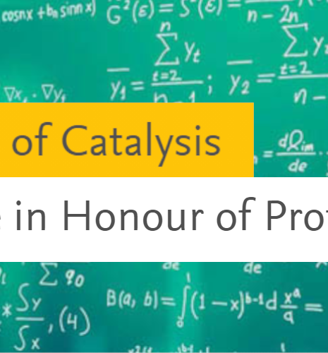 A special issue of the Journal of Catalysis shines the spotlight on Professor Michel Che