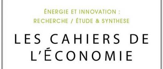 Les Cahiers de l'Économie - Archives
