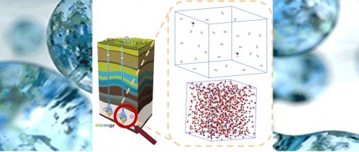 Molecular simulation to support geological hydrogen storage